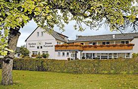 gasthaus decker - übernachtungsmöglichkeit für die reitschule am talberg in bischoffen wilsbach